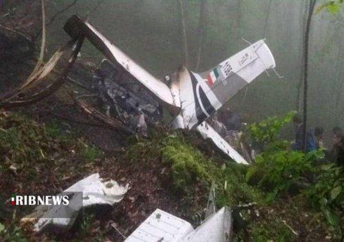 سقوط هواپیما در مازندران