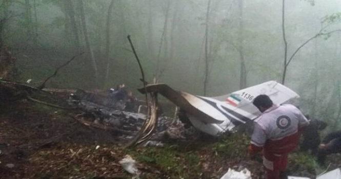 سقوط هواپیما در مازندران ؛ سقوط هواپیمای نیروی انتظامی در اطراف متل قو