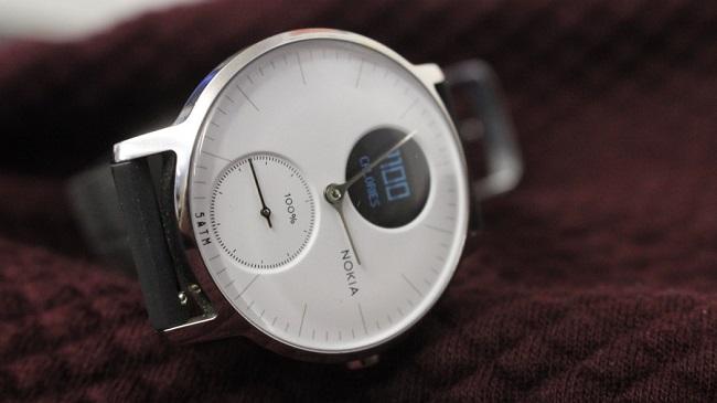 ساعت هوشمند نوکیا استیل اچ آر