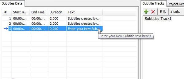 پس از آن زیرنویس شما در لیست subtitles data قرار میگیرد.