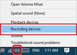رفع مشکل کار نکردن میکروفون در ویندوز 10