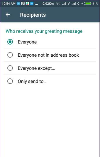 پیامهای احوالپرسی و آشنایی