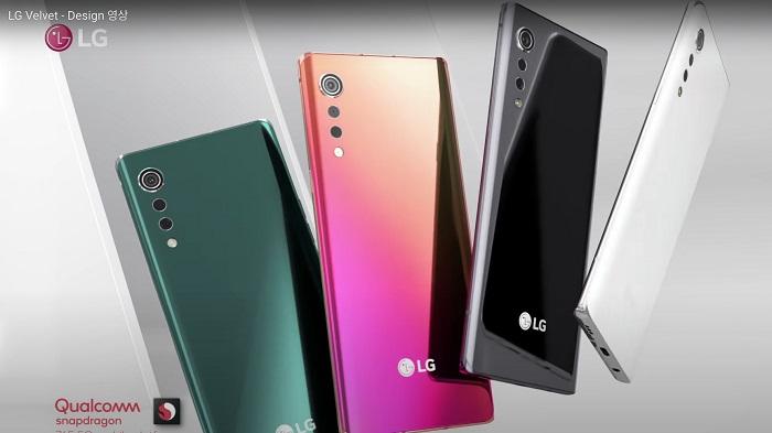 مشخصات فنی ال جی ولوت (LG Velvet)