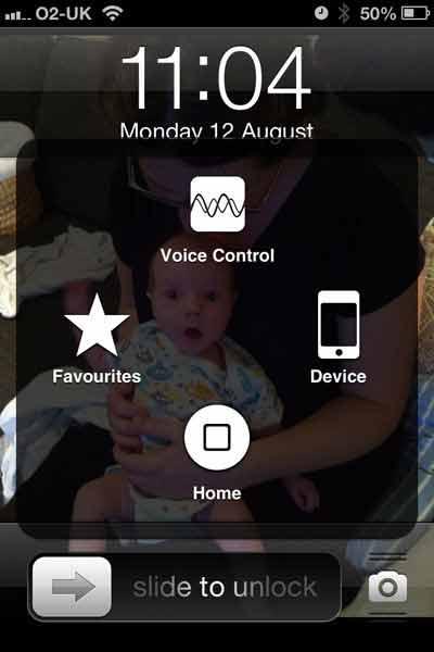 نحوه فعال کردن دکمه خانه مجازی آیفون