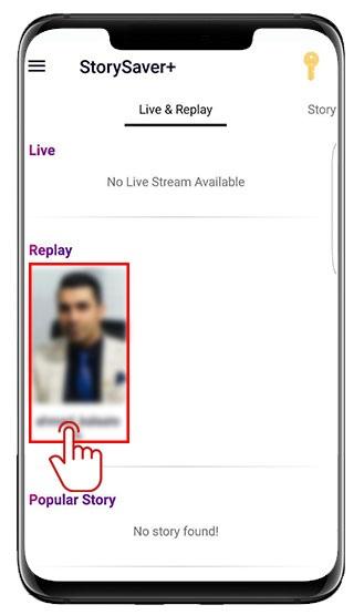 ذخیره لایو زنده یا ضبط شده با +StorySaver