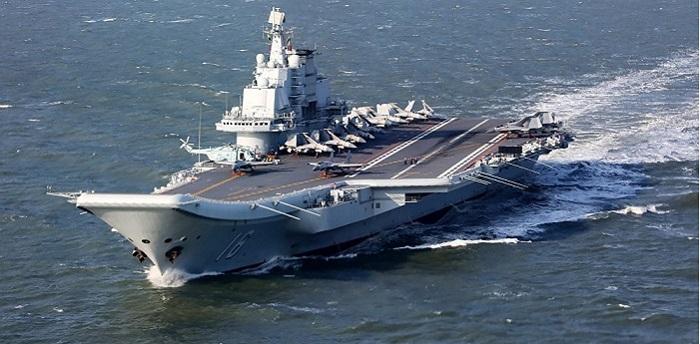 ناو هواپیمابر کلاسکوزنتسوفنسخه تکمیل شده چینی