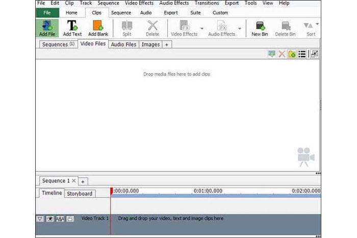 در ابتدا VideoPad را دانلود و نصب کنید.