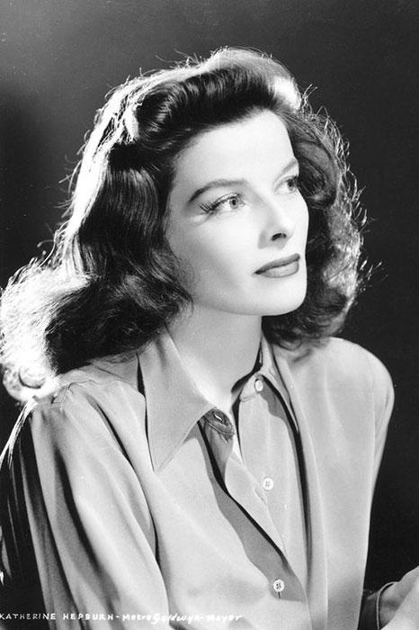۱. کاترین هپبورن (Katharine Hepburn)