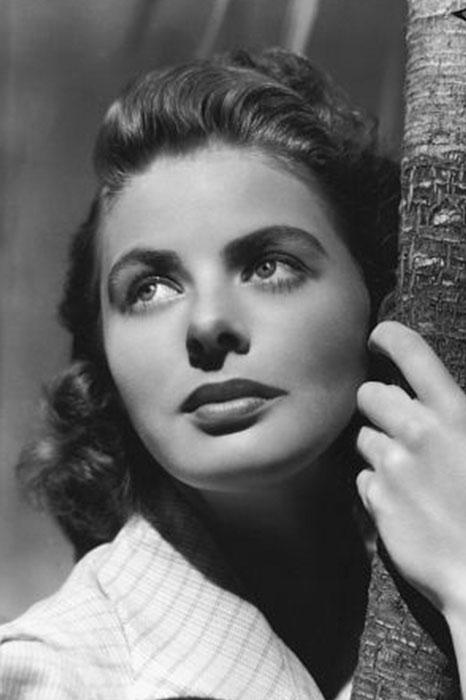 ۵. اینگرید برگمان (Ingrid Bergman)