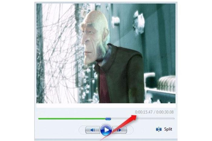 معمولا وقتی برنامه نوتپد شما باز است، میتوانید فیلمها را در برنامه Windows Movie Maker برحسب میلیثانیه مشاهده کنید.