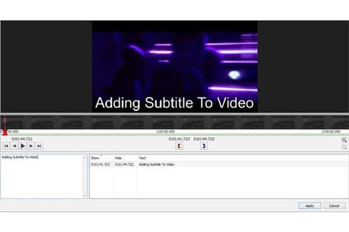 در اینجا شما صفحه ویرایش را خواهید دید. زیرنویس مورد علاقه خود را با توجه به زمان بندی ویدیو بنویسید.