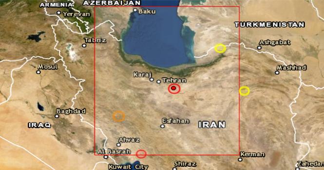 زلزله تهران را لرزاند؛ زمین لرزه 5.1 ریشتری تهران و مازندران 19 اردیبهشت 99