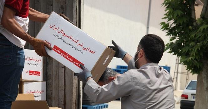 صنایع الکتریکی ناسیونال 140 هزار ماسک به کادر درمان و پزشکی تهران اهدا کرد