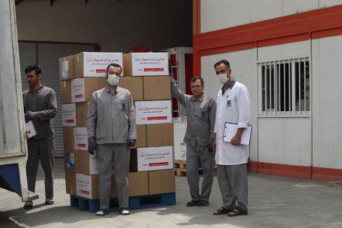 بر همین اساس صنایع الکتریکی ناسیونال ایران 140 هزار ماسکبه کادر درمانی کشور اهدا کرد.