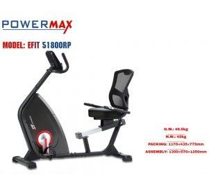 دوچرخه ثابت پاورمکس مدل 51800R POWERMAX