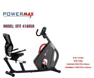 دوچرخه ثابت خانگی نشسته مدل پاورمکس 41805R POWERMAX