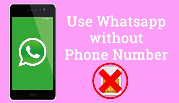 استفاده از واتساپ بدون شماره تلفن