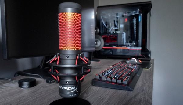 میکروفون گیمینگHyperX Quadcast
