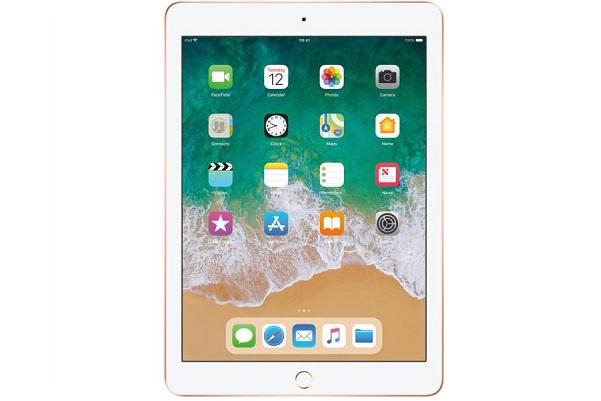 جایگاه دوم بهترین تبلت با سیستم عامل آی او اس: تبلت اپل مدل iPad 2018