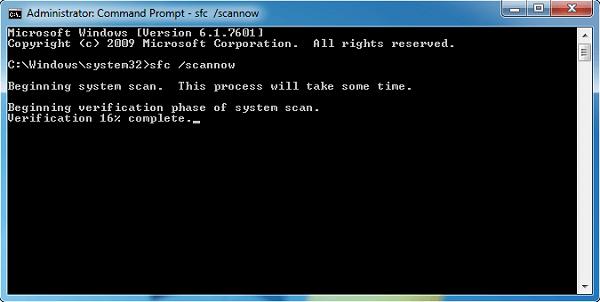 استفاده از ابزار System File Checker