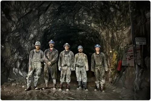 کارکنان معدن