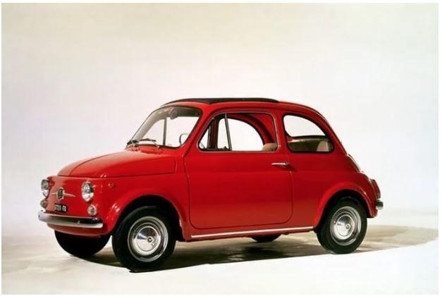 فیات ۵۰۰ Cinquecento مدل ۱۹۵۷