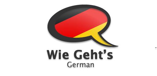 ۴-اپلیکیشن زبان آلمانیWie geht's German