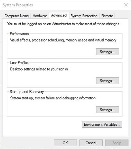 رفع مشکل ارور Your PC ran into a problem در ویندوز 10 با بررسی تنیظمات Memory Dump