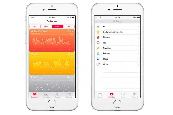 اپلیکیشن سلامت آیفون(iPhone Health App)