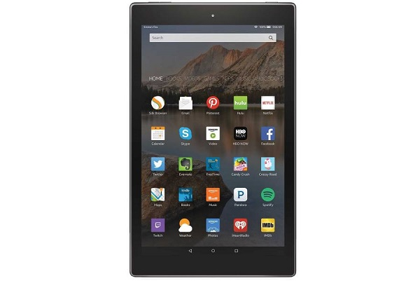 بهترین تبلت با سیستم عامل Amazon Fire:تبلت آمازون مدل Fire HD 10
