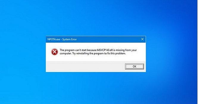 رفع مشکل ارور msvcp140.dll در ویندوز ۱۰ ؛ و چند ترفند کاربردی برای ویندوز 10