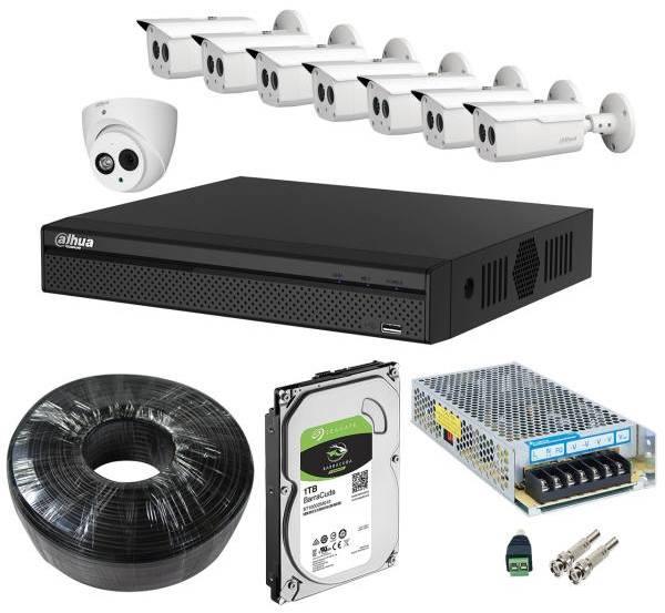 بهترین پکیج سیستم امنیتی:سیستم امنیتی داهوا مدل DP82S1717