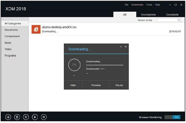 نرم افزار مدیریت دانلود (Xtreme Download Manager (XDM
