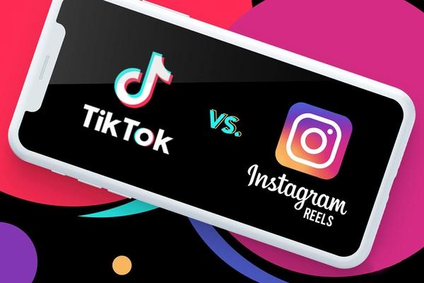 مقایسه Instagram Reels با TikTok