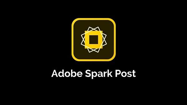 1. برنامه Adobe Spark Post ساخت استوری
