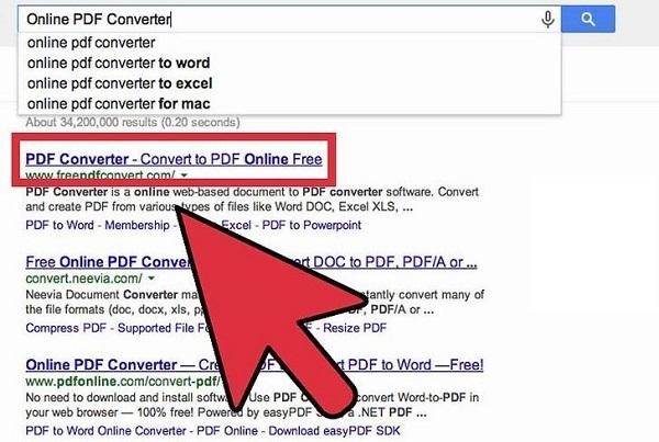 آموزش ساخت فایل پی دی اف (PDF) در ویندوز ۱۰ از عکس یا متن با کانورت های آنلاین