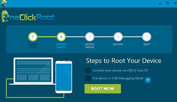 برنامه روت One Click Root