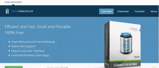 نرم افزار Geek Uninstaller حذف برنامه برای ویندوز ۱۰