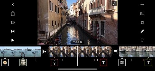 3. برنامه ساخت استوریهای جالب اینستاگرام Filmmaker Pro