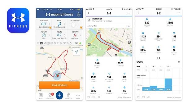 مپ مای فیتنس (Map My Fitness)