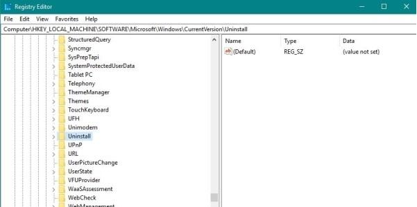 چگونه برنامهای را که در کنترل پنل نیست، حذف کنیم؟ حذف برنامههای ویندوز از طریق ریجستری
