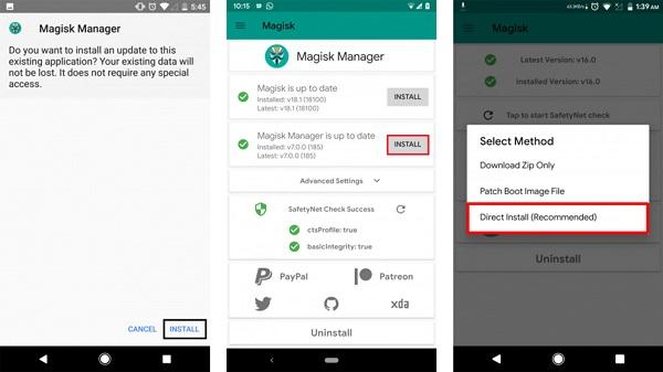 اپلیکیشن Magisk Manager