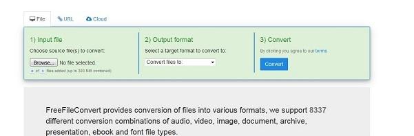 آموزش ساخت فایل پی دی اف (PDF) در ویندوز ۱۰ با کمک ابزار آنلاین Freefileconvert