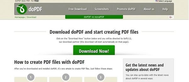 آموزش ساخت فایل پی دی اف (PDF) در ویندوز ۱۰ با استفاده از برنامه doPDF