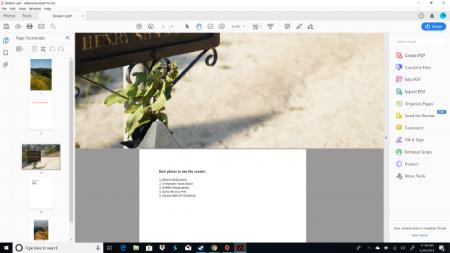 نحوه ادغام فایلهای پی دی اف در ویندوز 10