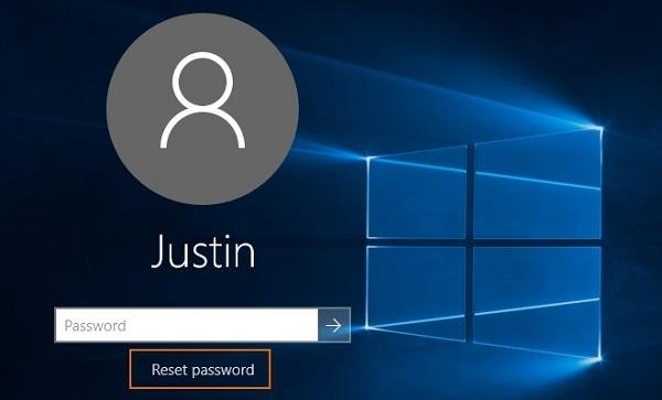 استفاده از دیسک بازیابی رمز ورود در ویندوز 10