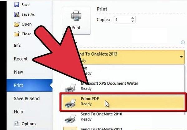 آموزش ساخت فایل پی دی اف (PDF) در ویندوز ۱۰ با برنامه ورد ۲۰۱۶، ۲۰۱۳، ۲۰۱۰ و...