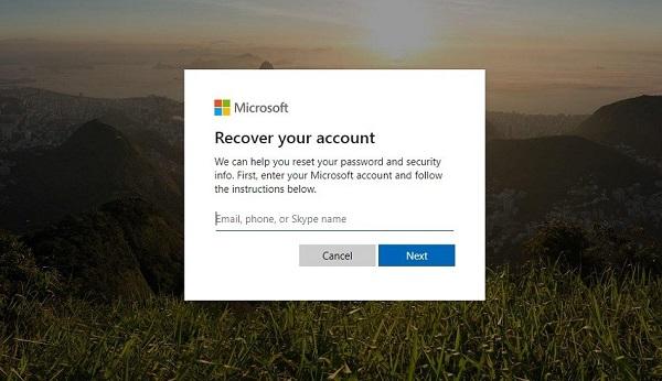 نحوه بازیابی رمز ویندوز 10 به شکل آنلایننحوه بازیابی رمز ویندوز 10 به شکل آنلاین