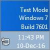 روش غیرفعال کردن اجرا ویندوز در حالت تست برای ویندوزهای ویستا، ۷ و ویندوز سرور ۲۰۰۸