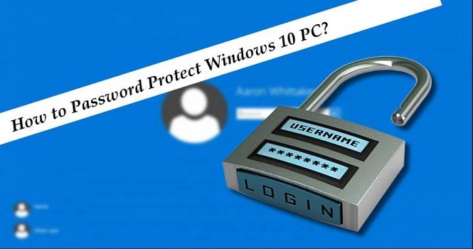 آموزش پسوورد گذاشتن در ویندوز ۱۰ ؛ چگونه برای کامپیوتر رمز بگذاریم؟